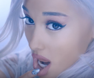 blue, arianagrande, and perfect image