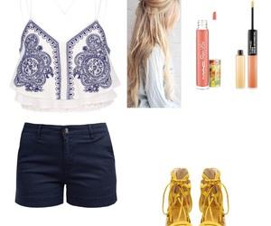 lipgloss, mac, and outfits image