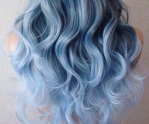 blue, grey, and style image