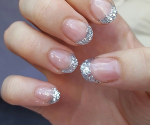 nails, silber, and snsd image