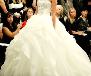 beautiful, bridal, and haute couture image