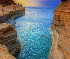 corfu, holiday, and Greece image