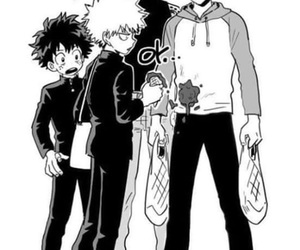 one punch man and my hero academia image