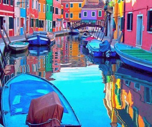 venice, italy, and boat image