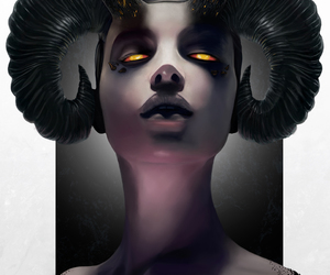 aries, horns, and astrology image