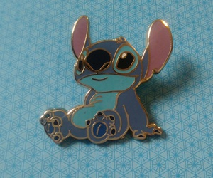 blue, disney, and pins image