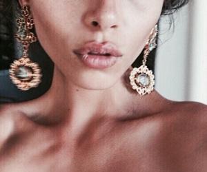 beauty, lips, and model image