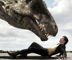 dinosaur, connor temple, and tv show image