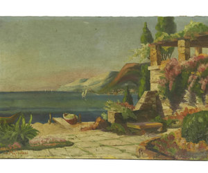 etsy, french art, and seascape image