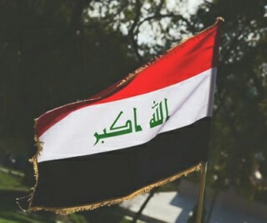 iraq and flag image