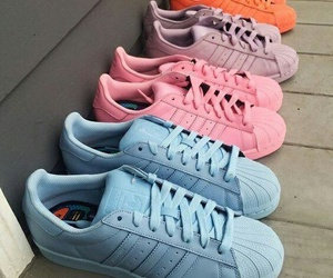adidas, color, and happy image
