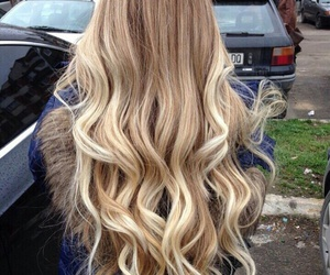 blonde, comb, and hair style image