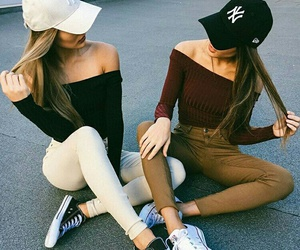 friends, style, and outfit image