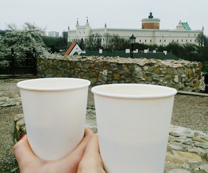 city, coffee, and Poland image