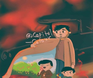 كاريكاتير, رَسْم, and بغدادً image
