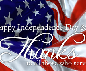 4th of july, fourth of july, and happy birthday america image