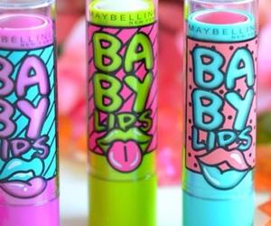 baby and lips image