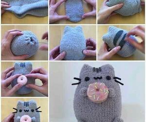 diy, pusheen, and cat image
