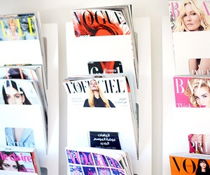 magasine and vogue image