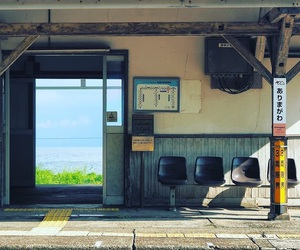 japan, aesthetic, and station image