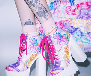 shoes and pony image
