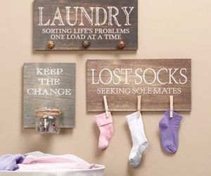 Laundry Room Wall Hangings: