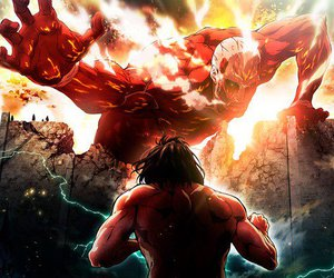 attack on titan and anime image