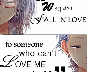 anime, cry, and heart break image
