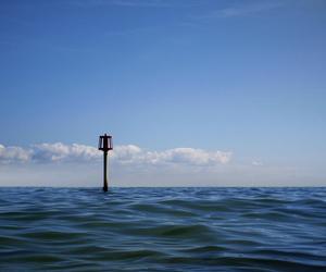 blue sky, horizon, and indie image