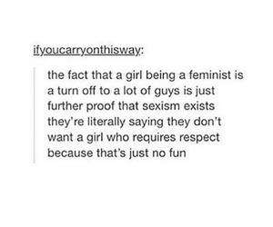 feminism, life, and men image
