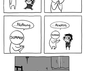 sarah andersen, funny, and summer image