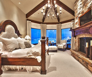 bedroom, cozy, and design image