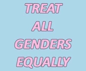 bisexual, feminism, and equality image