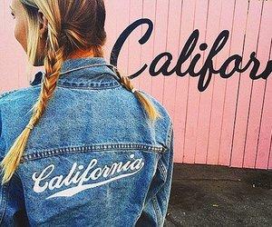 california, girl, and fashion image