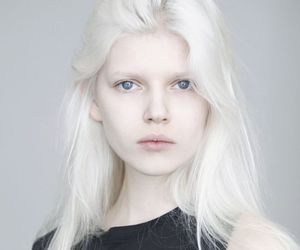 model, white, and hair image