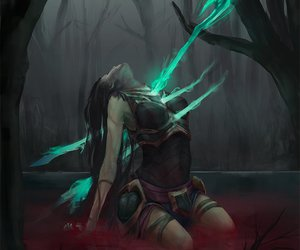 lol, league of legends, and kalista image