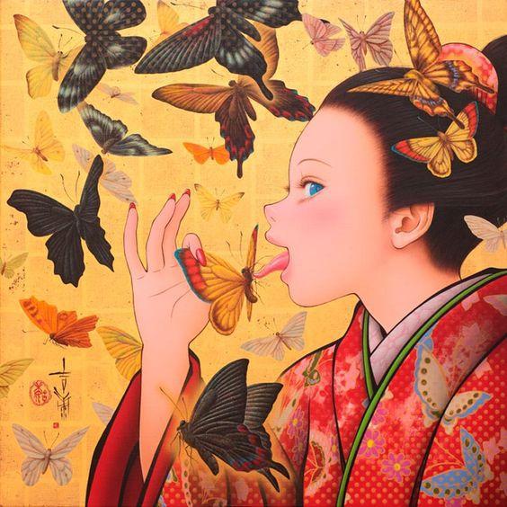 The Japanese Artist Tamura Yoshiyasu Is Both Manga Artist