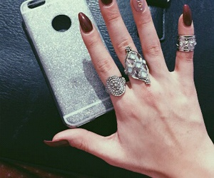 girl, hand, and nails image