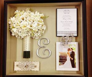 bouquet, bigday, and bride image