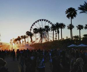summer, coachella, and festival image