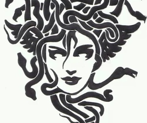 medusa and snakes image