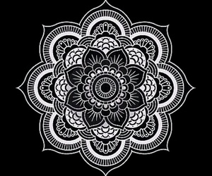 mandala, overlay, and art image