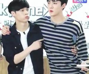 exo, sehun, and layhun image