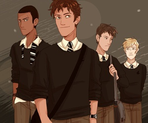 the raven boys, the raven cycle, and ronan lynch image