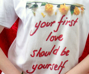 beauty, feminism, and love yourself image