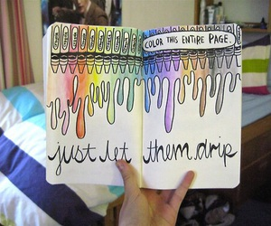 crayon, quality, and tumblr image