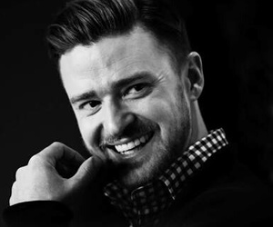 justin timberlake, smile, and handsome image