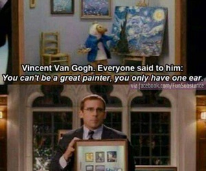 funny, quotes, and van gogh image