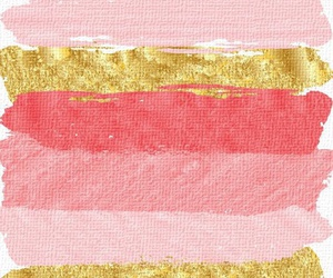 wallpaper, pink, and gold image