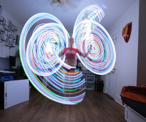 festival, hulahoop, and leds image